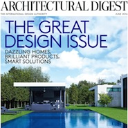 Architectural Digest's June 2016 cover