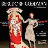 Bergdorf Goodman's pre-fall 2016 magazine