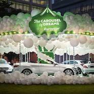 Europcar's Carousel of Dreams featuring Mercedes-Benz