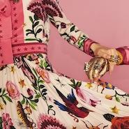The Gucci Garden print