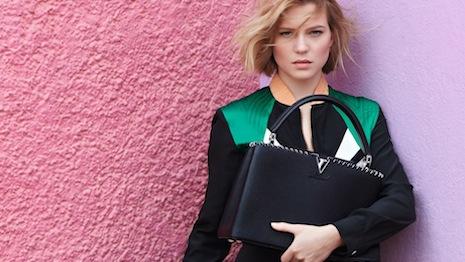 Lea Seydoux for Louis Vuitton's Spirit of Travel campaign