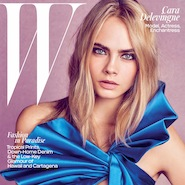 Cara Delevingne for W magazine, June/July 2016