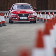 Jaguar Land Rover Roadwork Assist