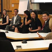 Representatives from Chanel, Carolina Herrera, Cartier, Chanel and Luxury Daily at a Luxury Education Foundation panel July 21 with New York's Columbia Business School on retail internships