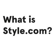 Style.com teaser