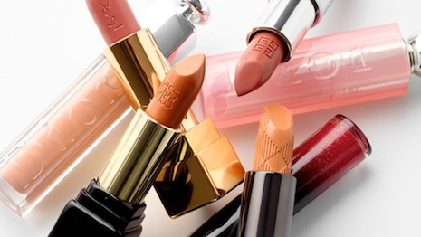 Lipsticks from Burberry, Dior and others