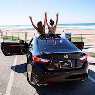 Promotional image for #LexusGoldenContest