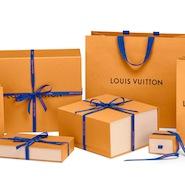 Louis Vuitton's Safran Impérial packaging