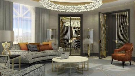 The Presidential Suite at Hotel Alexander