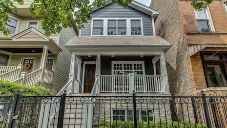 Re/Max North Oakley Avenue Chicago home