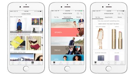 Nordstrom's mobile app
