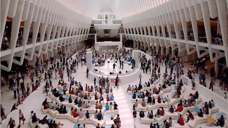 Westfield World Trade Center mall in New York