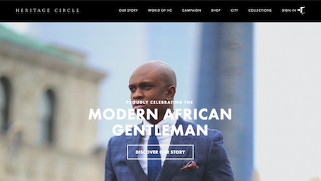 Heritage Circle's homepage
