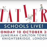 Tatler Schools Live! logo