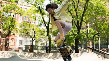 Miu Miu's film features 18-year old skater Rochelle Vinberg