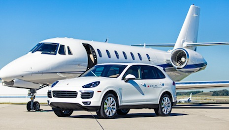 Delta and Porsche team up for private jet experience