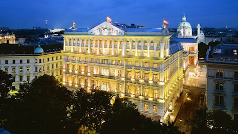 Starwood's The Luxury Collection is now controlled by Marriott International. Image: Hotel Imperial Vienna