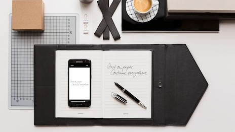 Montblanc's new augmented pen