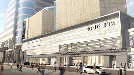 Rendering of Nordstrom's CF Eaton Centre store