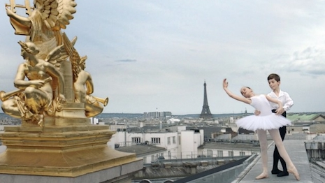 Still from Paris' tourism film by Jalil Lespert