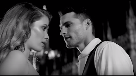 Trussardi's video for Uomo and Donna