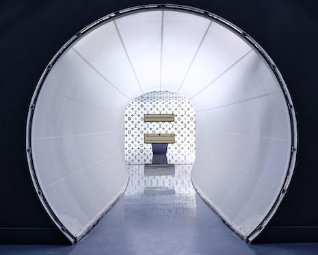 Series 3 exhibition by Louis Vuitton, London