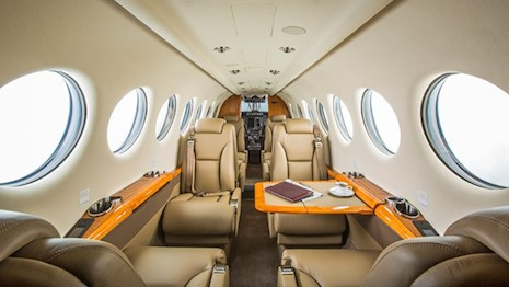 Inside the Wheels Up King Air 350i