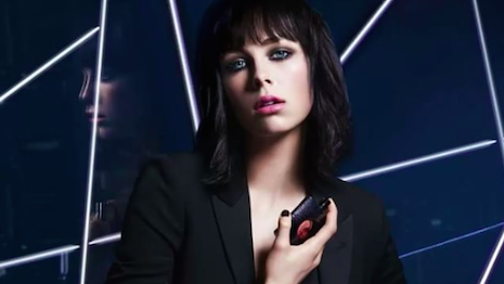 Edie Campbell for YSL Beauty's Black Orchid