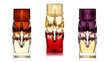 Christian Louboutin's fragrance trio