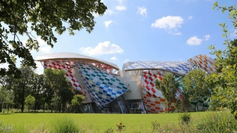 Fondation Louis Vuitton is on the grounds of Jardin d'Acclimatation