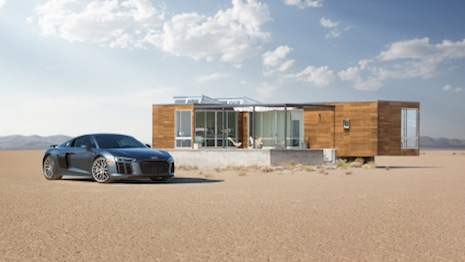 Audi partnered with Airbnb for desert adventure experience