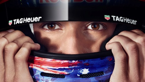 Tag Heuer sponsors Red Bull Racing, but now expands to TV