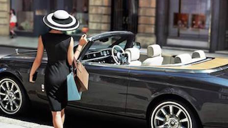 Affluent consumers favor heritage luxury brands; image source Rolls-Royce