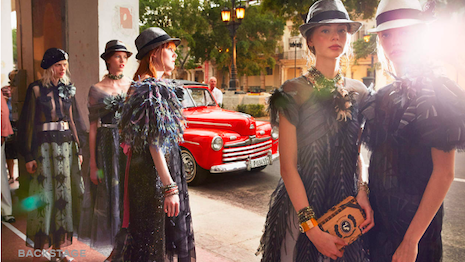 Chanel show in Cuba