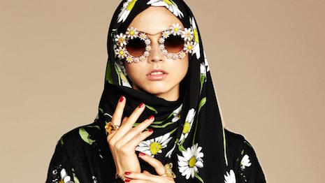 Dolce & Gabbana is Vogue Arabia advertising partner