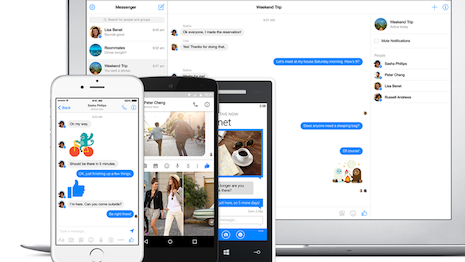 Facebook: The medium is the messenger