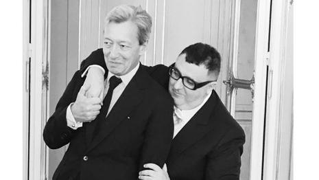 Frédéric Malle and Alber Elbaz