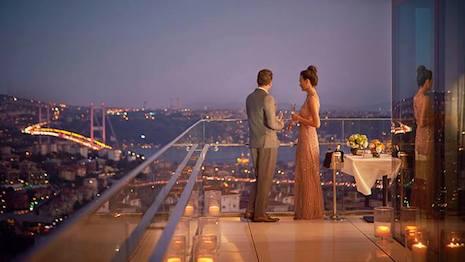 Raffles Istanbul; image courtesy of Virtuoso