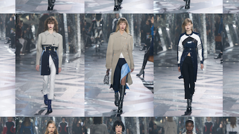 Scenes from Louis Vuitton's autumn/winter 2016 collection show