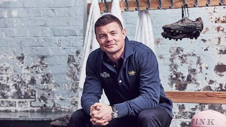 Brian O'Driscoll for Thomas Pink
