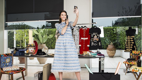 Dolce & Gabbana's contemporary princess in #DGFabulousFantasy
