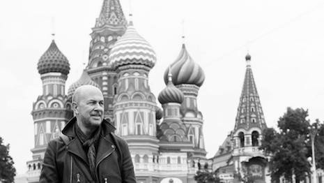 John Varvatos in Moscow celebrating his brand's store opening