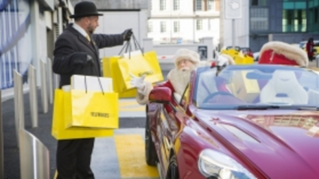 Selfridges offers click-and-collect purchasing, even for Santa