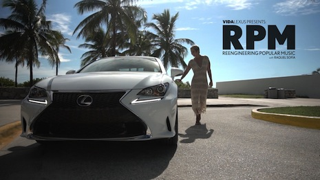 Lexus' Latin music video series