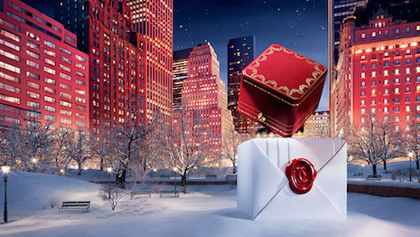 Image from Cartier's holiday 2016 efforts