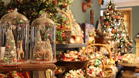 London department store Fortnum & Mason goes all out for Christmas