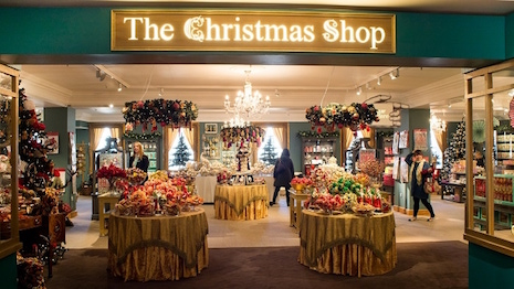 London's Fortnum & Mason department store has kicked off its Christmas countdown