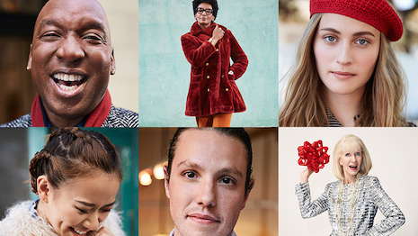 """Portraits from """"Love, Nordstrom"""" campaign"""