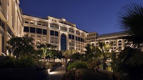 Exterior of Palazzo Versace Dubai