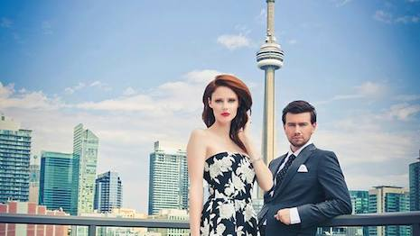"Image from Saks' ""I Left My Heart in Toronto"" campaign"